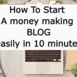 How Start A WordPress Blog On Bluehost