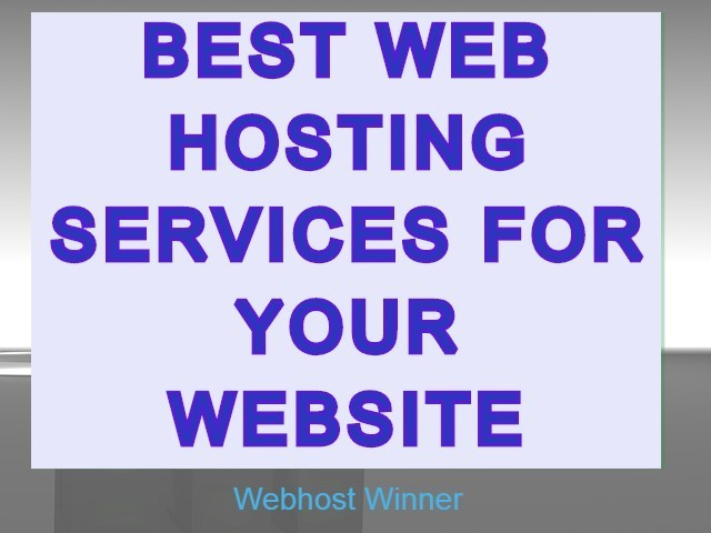 Best web hosting services for your website